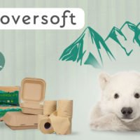 CloverSoft eco friendly tissues