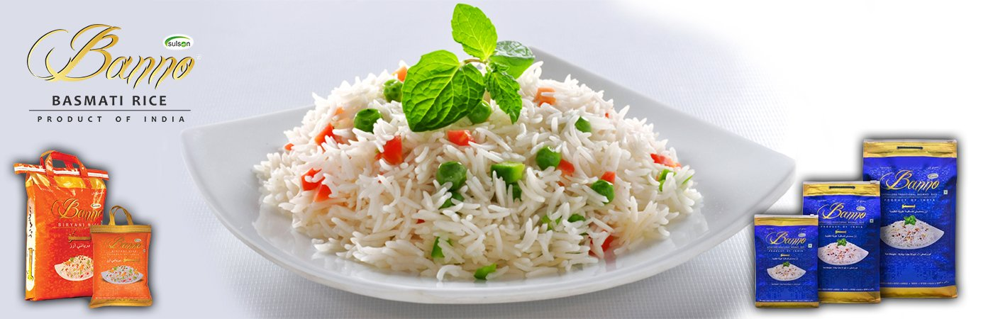 Banno Basmati Rice - Maldives Hospitality & Catering Suppliers