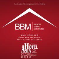 Hotel Asia Main Sponsor